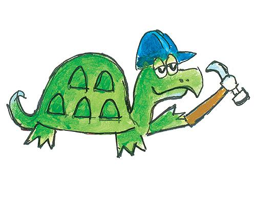Pete The Cat Magic Sunglasses Turtle