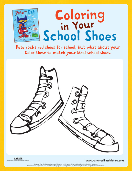 Pete The Cat And His School Shoes Video