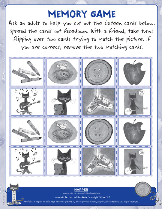 Worksheet. Pete the Cat Activities  PeteTheCatBookscom