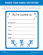 Create Your Dance Invitation